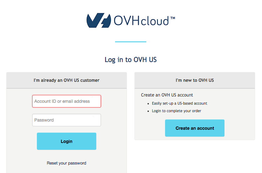 Using the Openstack cli to create a server on OVH public